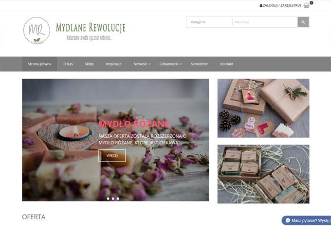 sklep internetowy MydlaneRewolucje